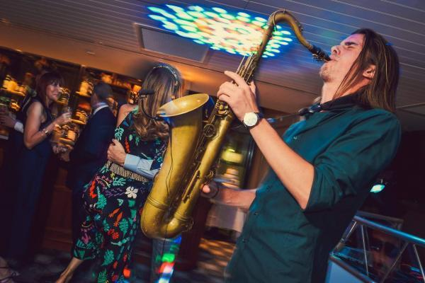 Sax & Dj Package Live From King Street Townhouse Manchester